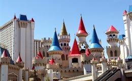 Las Vegas Excalibur Hotel 1. Image of Excalibur Hotel in Las Vegas Stock Image