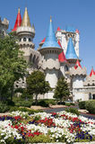 Las Vegas - Excalibur Hotel und Kasino lizenzfreies stockbild