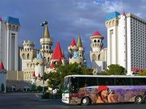 Las Vegas Excalibur stockbilder