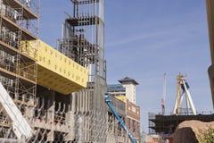 Le secteur de Linq à Las Vegas, nanovolt le 22 février 2013 Photographie stock libre de droits