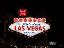 Las Vegas fabuleux se connectent la bande au Nevada images libres de droits