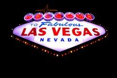 Las Vegas fabuloso Imagem de Stock