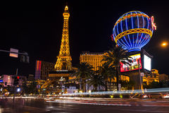 Las Vegas. The famous Las Vegas Strip - an approximately 4.2-mile (6.8 km) stretch of Las Vegas Boulevard South in Las Vegas