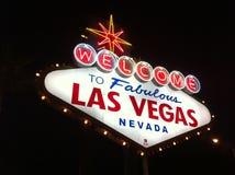 Las Vegas favoloso Fotografie Stock