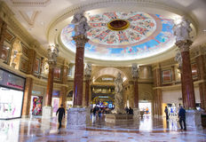 Las Vegas. FEB 03 :The casino of Caesar Palace on February 03, 2013 in . Caesars Palace is a luxury hotel and casino located on the  Strip. Caesars has 3,348 royalty free stock photo