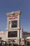Den Caesars slotten undertecknar i Las Vegas, NV på Februari 22, 2013 Royaltyfri Fotografi