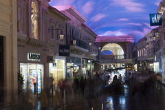 The Forum Shops in Las Vegas, NV on February 22, 2013 Royalty Free Stock Images