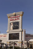 The Caesars Palace Sign in Las Vegas, NV on February 22, 2013 Royalty Free Stock Photography