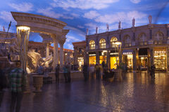The Forum Shops mall in Las Vegas, NV on February 22, 2013 Stock Photos