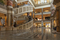 The Forum Shops in Las Vegas, NV on February 22, 2013 Royalty Free Stock Photos