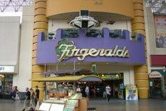 Las Vegas - Fitzgeralds Hotel and Casino Stock Photo