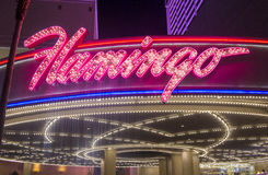 Las Vegas, flamant Photographie stock