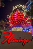 Las Vegas, flaming Fotografia Royalty Free