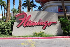 Las Vegas - Flamingo Hotel and Casino Royalty Free Stock Photo