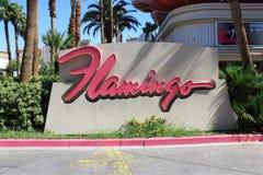 Las Vegas - Flamingo-Hotel und Kasino Lizenzfreies Stockfoto
