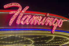 Las Vegas , Flamingo Royalty Free Stock Images