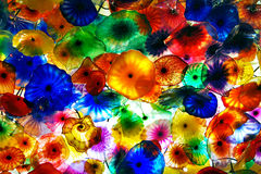 Las Vegas, Flower ceiling royalty free stock photography