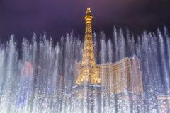 Las Vegas, fontane Fotografie Stock Libere da Diritti