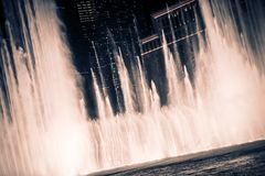 Las Vegas fontanny Obraz Stock