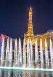 Las Vegas, fontanny Fotografia Stock