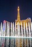 Las Vegas, fontanny Obraz Stock