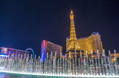 Las Vegas, fontanny Obrazy Stock