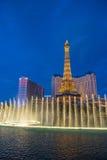 Las Vegas, fontes Fotografia de Stock