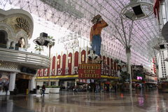 Las Vegas - Former Pioneer Club Casino Stock Image