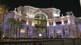 Las Vegas forum shoppar arkivfilmer