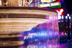 Las Vegas Fountain royalty free stock image