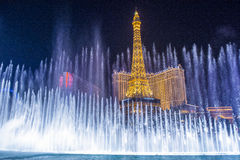 Las Vegas , fountains Royalty Free Stock Photography