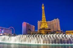Las Vegas , fountains Stock Photos