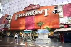Las Vegas - Fremont Hotel and Casino Royalty Free Stock Photography