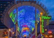 Las Vegas, Fremont-Straatervaring Royalty-vrije Stock Foto