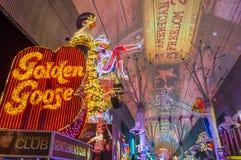 Las Vegas, Fremont-Straatervaring Royalty-vrije Stock Fotografie
