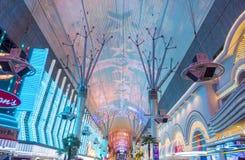Las Vegas, Fremont-Straatervaring Stock Foto