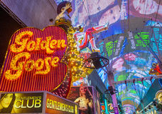 Las Vegas, Fremont-Straatervaring Stock Afbeelding