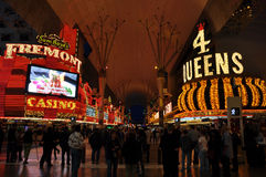 Las Vegas Fremont Street Royalty Free Stock Photography