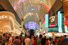 Las  Vegas Fremont Street Royalty Free Stock Photo