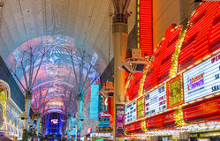 Las Vegas , Fremont Street Experience Royalty Free Stock Photo