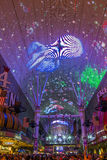 Las Vegas , Fremont Street Experience Royalty Free Stock Images