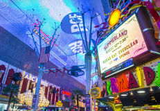 Las Vegas , Fremont Street Experience Stock Photography