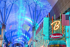 Las Vegas , Fremont Street Experience Stock Photography