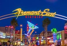 Las Vegas , Fremont Street Experience Royalty Free Stock Photo