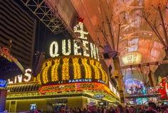 Las Vegas , Fremont Street Experience Royalty Free Stock Photos