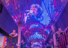 Las Vegas , Fremont Street Experience Royalty Free Stock Image