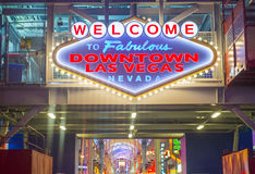 Las Vegas , Fremont Street Experience Stock Photo