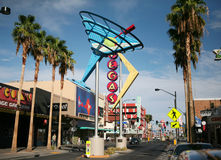 Las Vegas Fremont Street and Neon Stock Photo