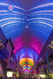 Las Vegas, Fremont Uliczny doświadczenie Fotografia Royalty Free