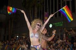 Las Vegas glad stolthet Arkivbild